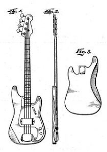 Fender_Precision_Bass_patent_sketch